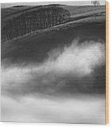 Peak District Landscape Wood Print by Andy Astbury