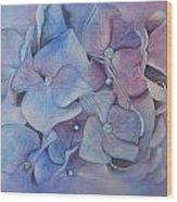 Petals Wood Print by Patsy Sharpe