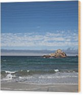 Pfeiffer Beach Wood Print by Ralf Kaiser