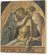 Pieta Wood Print by Carlo Crivelli