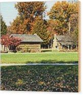 Pioneer Village 1 Wood Print by Franklin Conour