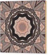 Poker Game Wood Print by Marsha Heiken