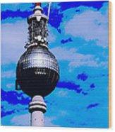 Pop Art Berlin Wood Print by Falko Follert