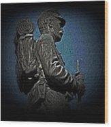 Portrait 31 American Civil War Wood Print by David Dehner