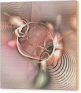 Prophecy Is True Wood Print by Abstract art prints by Sipo