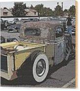 Rat Truck Wood Print by Steve McKinzie