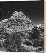Red Rock Canyon At Spring Mountain Wood Print by David Patterson