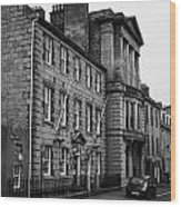 Regent Quay Aberdeen Scotland Uk Wood Print by Joe Fox