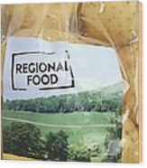 Regional Food Wood Print by Victor De Schwanberg