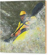 River Runner Wood Print by Garry McMichael