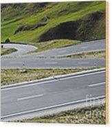 Road With Curves Wood Print by Mats Silvan