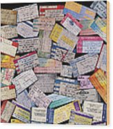 Rock And Roll Memories Wood Print by Stephen Anderson