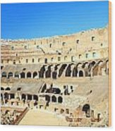 Rome Coliseum Wood Print by Valentino Visentini