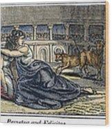 Rome: Perpetua & Felicitas Wood Print by Granger