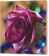 Rose Celebration Wood Print by Bill Tiepelman