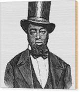 Samuel D. Burris Wood Print by Granger