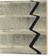 San Andreas Stairs Wood Print by Joe Jake Pratt