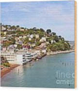 Sausalito California Wood Print by Jack Schultz