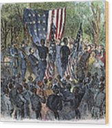 Sc: Emancipation, 1863 Wood Print by Granger