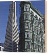 Sentinel Building San Francisco Wood Print by Garry Gay