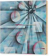 Shades Of Fibonacci Wood Print by Hakon Soreide