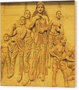 She Wood Print by Arindam Raha
