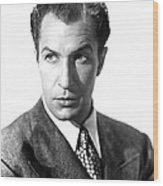 Shock, Vincent Price, 1946 Wood Print by Everett