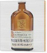 Shower Gel Bottle Wood Print by Gregory Davies, Medinet Photographics