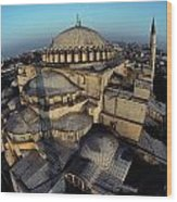 Side Domes And Minarets Gather Wood Print by James L. Stanfield