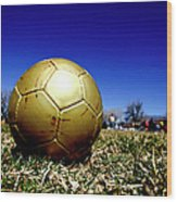 Soccer Season Starts Wood Print by Scout J Photography