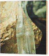 Soda Water Wood Print by Rebecca Sherman