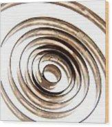 Spiral Wood Print by Bernard Jaubert