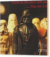 Star Wars Gang 4 Wood Print by Micah May