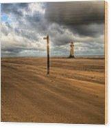 Storm Brewing Wood Print by Adrian Evans