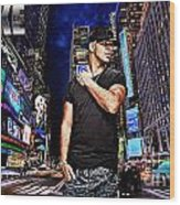 Street Phenomenon Drake Wood Print by The DigArtisT