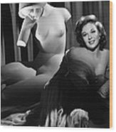 Susan Hayward, Ca. 1952 Wood Print by Everett