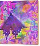 Swallowtail Wood Print by Judi Bagwell