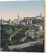 Tallinn Estonia - Formerly Reval Russia Ca 1900 Wood Print by International  Images