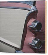 The 1955 Dodge Royal Lancer Sedan Wood Print by David Patterson