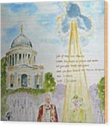 The Blessed Queen Wood Print by Geeta Biswas