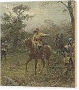 The Boscobel Oak Wood Print by Earnest Crofts