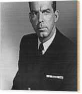 The Caine Mutiny, Fred Macmurray, 1954 Wood Print by Everett
