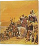 The Crusades Wood Print by Gerry Embleton