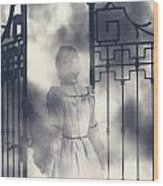 The Gate Wood Print by Joana Kruse