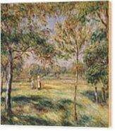 The Glade Wood Print by Pierre Auguste Renoir