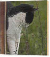 The Hunt Wood Print by Kim Henderson