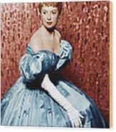 The King And I, Deborah Kerr, 1956 Wood Print by Everett