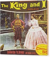 The King And I, Yul Brynner, Deborah Wood Print by Everett