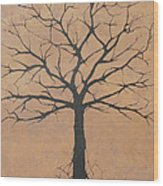 the Lindsey Tree Wood Print by Julia Raddatz