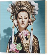 The Mask Of Fu Manchu, Myrna Loy, 1932 Wood Print by Everett